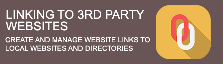 Back Linking to 3rd Party Websites